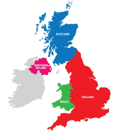 UK Prayer Team map